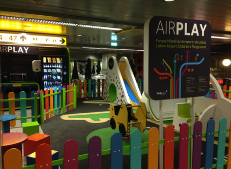 Is Lisbon's Airport family-friendly?