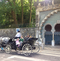 Lisbon for kids, Little Lisbon, kids activities, family activity, learning activity, horse carriage ride, Sintra for kids, Sintra with family