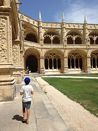 LITTLE LISBON. Lisbon for kids. Tours for families. Private Family Tours. Private Family Visits. Family Visit Jeronimos Monastery