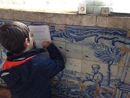 LITTLE LISBON. Lisbon for kids. Tours for families. Private Family Tours. Private Family Visits. Family Visit Ceramic Tile Azulejo Museum