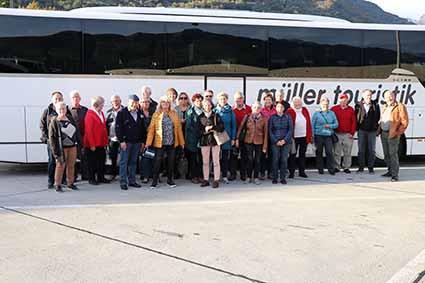 Vereinsfahrt Gardasee vom 9. bis 11.10.2020