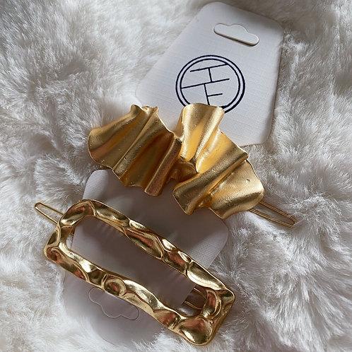 Gold Clip Set