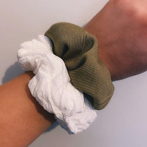 Textured Scrunchie