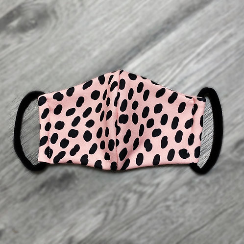 Pink Dalmatian Mask