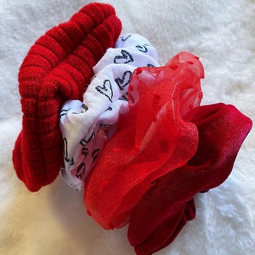 Valentine's Scrunchie Collection