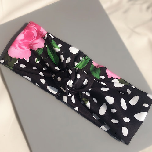 Knot Dalmatian Print Headband