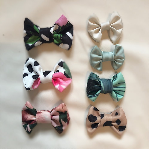 SMALL Children's Bow Clips (Matching Pack of 2)