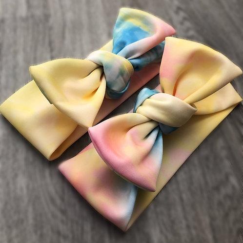 Kids NHS Rainbow Tie Headband