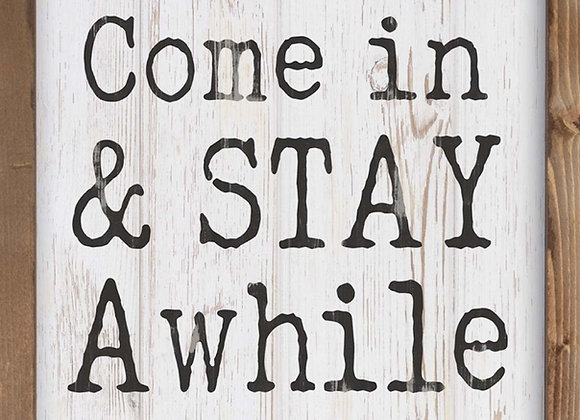 Come In & Stay