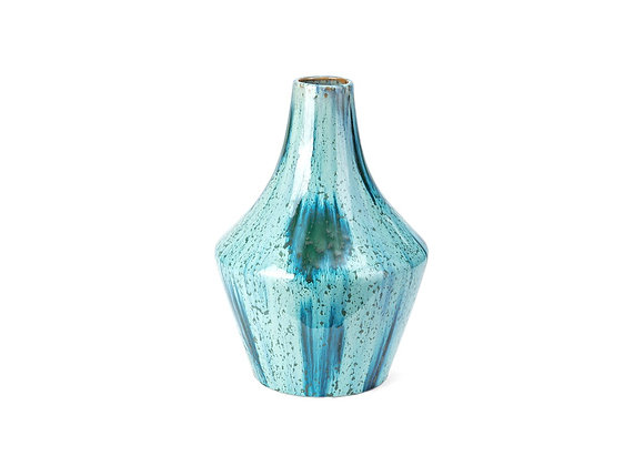 Powell Blue Glaze Small Vase