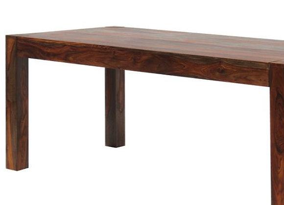 Keats Rectangular Dining Table in Warm Chestnut