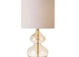 Ellipse Table Lamp Set Of 2 in Gold