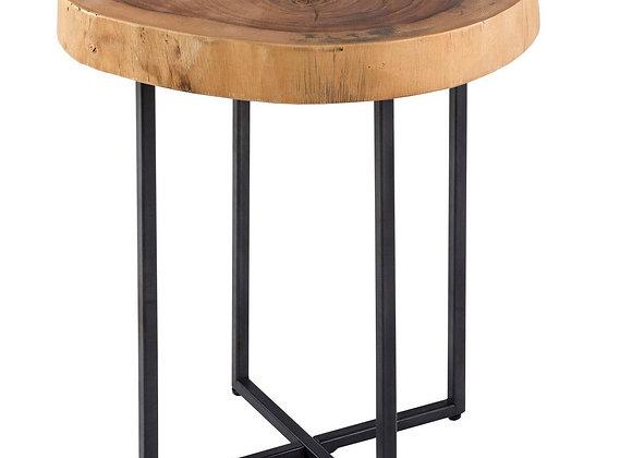 Arcadia Wood Slab End Table