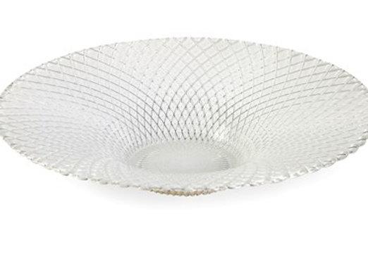 Essentials White Glass Bowl
