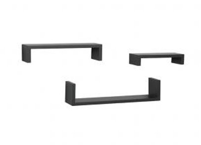 3-Piece Ledge Shelving Set