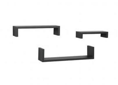 3-Piece Ledge Shelving Set
