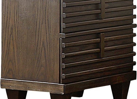 Nightstand with USB Port, Ridgewood Collection
