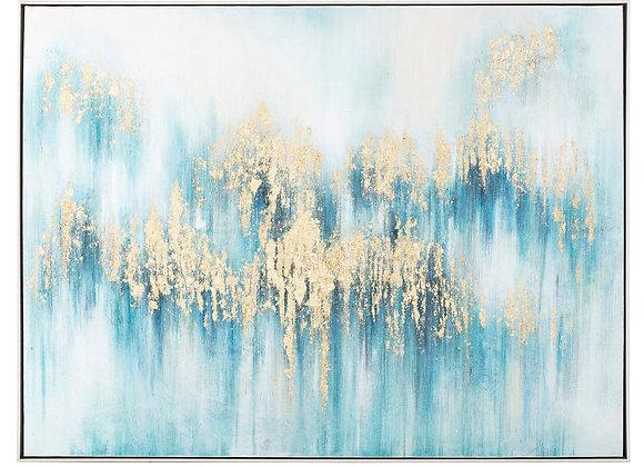 Inspired Framed Oil Painting