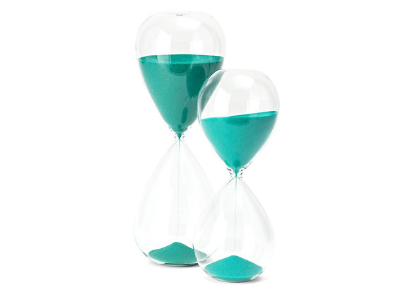 Biscay Hourglasses - Set of 2