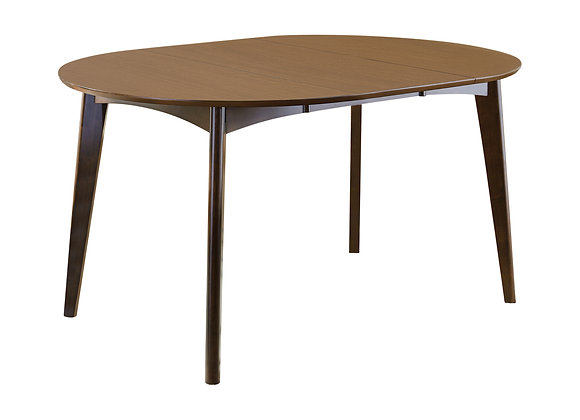 Malone Oval Dining Table in Dark Walnut