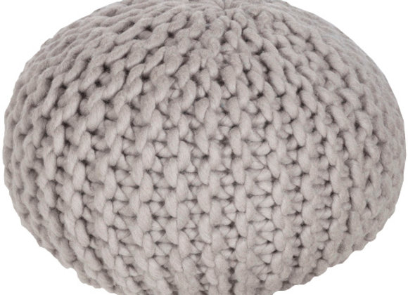 Fargo Pouf in Taupe