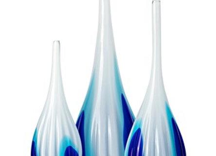 Toledo Glass Vases - Set of 3