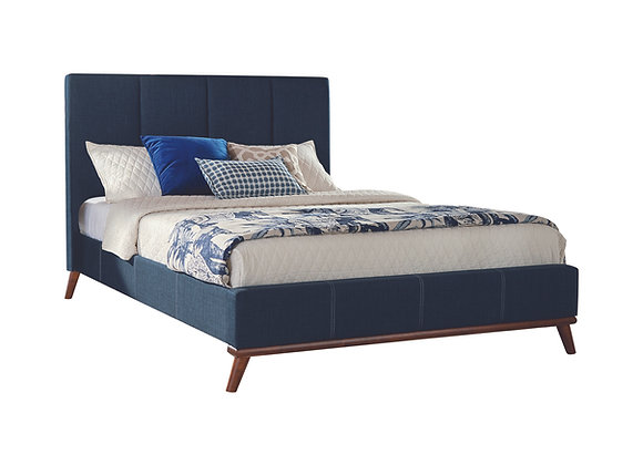 Charity Queen Upholstered Bed