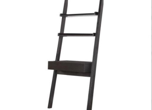 Colella 2-Shelf Writing Ladder Desk in Cappuccino