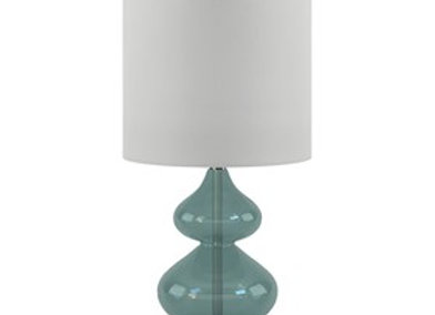 Ellipse Table Lamp Set Of 2 in Blue