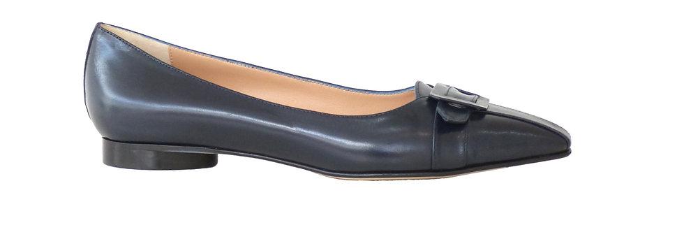 CELIA Navy Leather