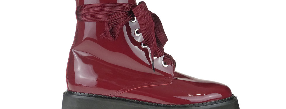 Joni red patent