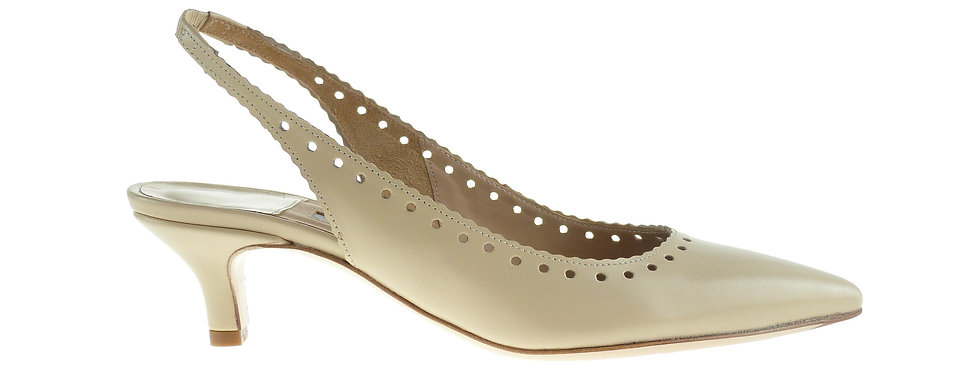 EMILY  Beige Leather