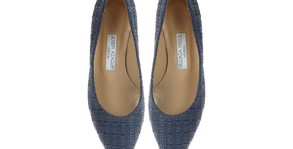 BETTY  Blue Raffia