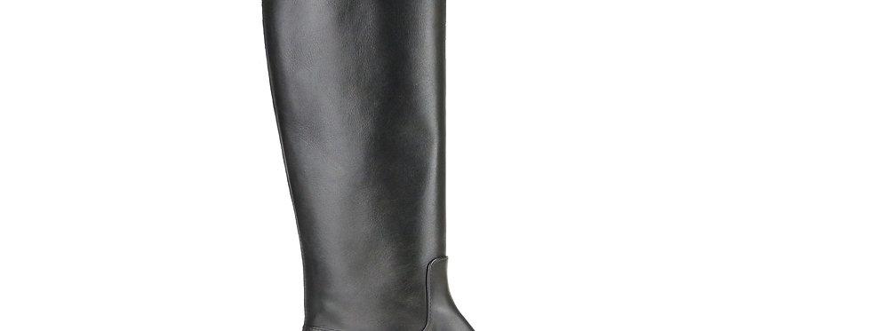 Amaris black leather