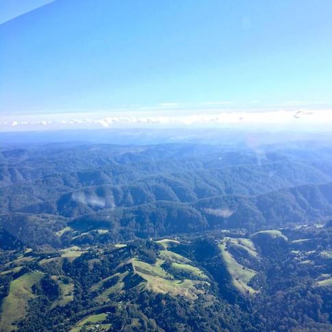 Mountains - Cockpit View