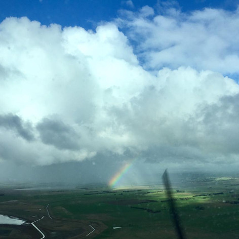 Rainbow - Cockpit View