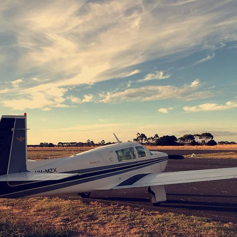 Colac Airport - Sunset
