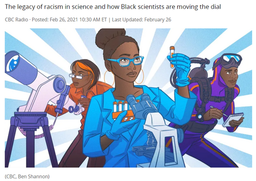 Black in Science: Quirks & Quarks special