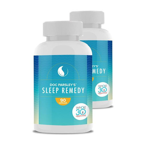 Sleep Remedy - Dr Kirk Parsley-Developed for Special Forces