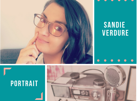 Portait #3. Sandie VERDURE.