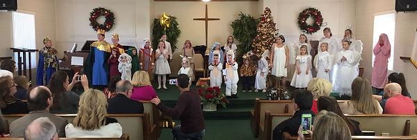 Richland Faith children's christmas play