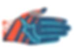 Alpine Stars Racer Glove OrangePoseidonB