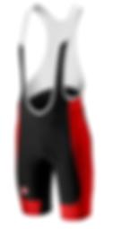 Castelli Evoluzione Mens Bib Shorts Red.