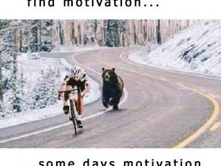 Motivation has left the building