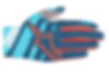 Alpine Stars Racer Glove AtollBluePoseid