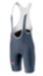 Castelli Evoluzione Mens Bib Shorts Grey