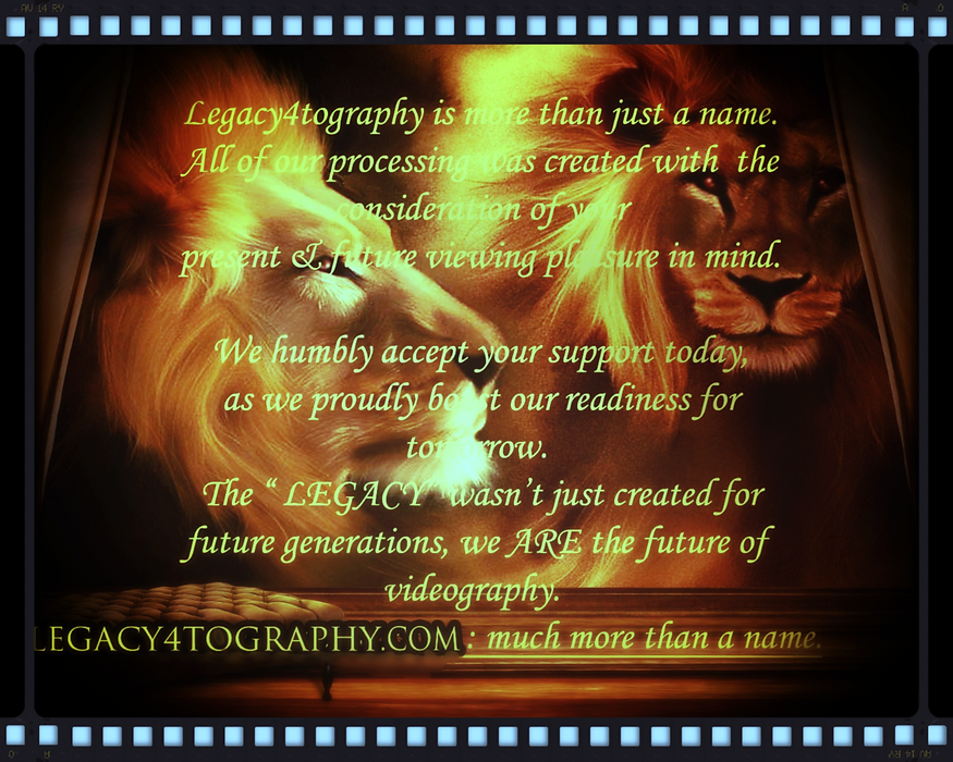 #Legacy4tography, LLC