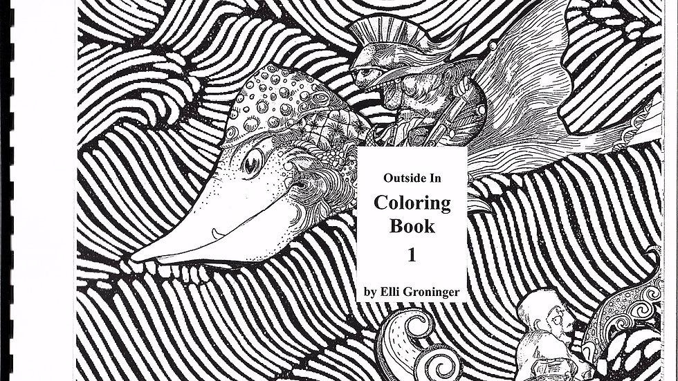 Outside In Coloring Book
