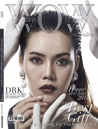 """""""คุณหมอกลวัชร์ เหล่าชัยศรี"""" บอสส์ DRK Beauty Clinic ให้สัมภาษณ์ใน WOW Society Magazine"""