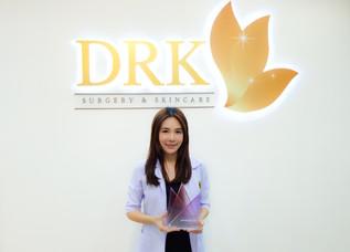 DRK Beauty Clinic ได้รับรางวัลอันทรงเกียรติให้เป็น Allergan Valued Customer ปี 2016